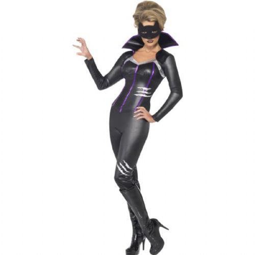 Foxy Feline Superhero - Sexy Fancy Dress (Smiffys 24059)